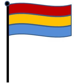 Prospect research pride flag