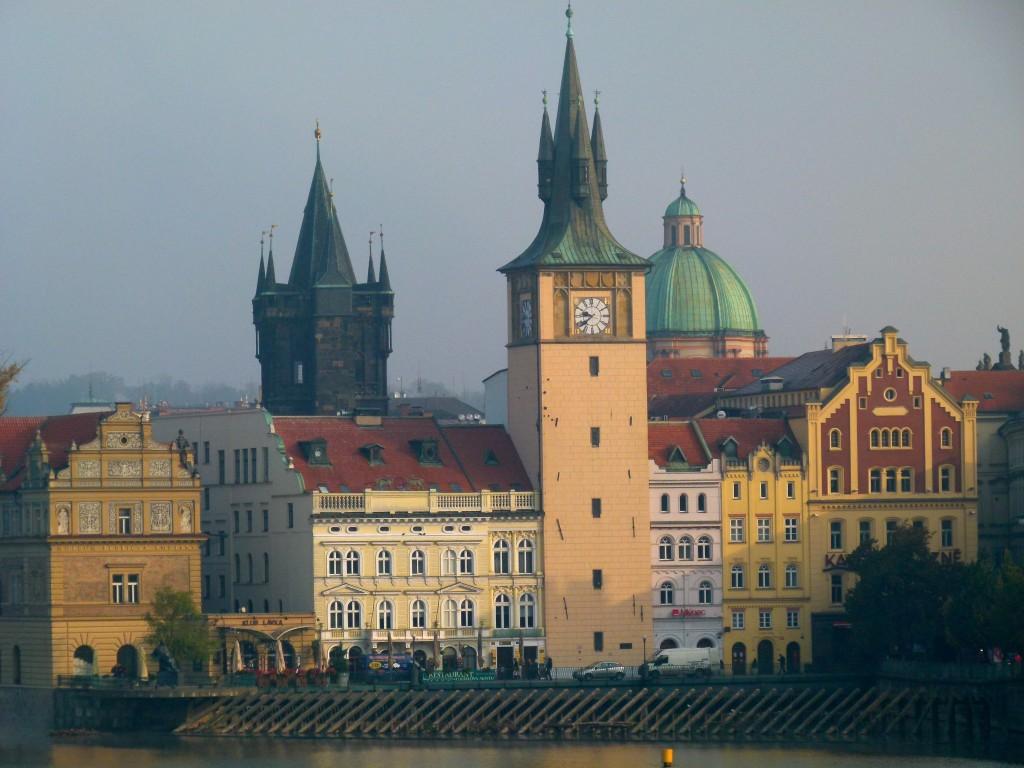 Prague river view