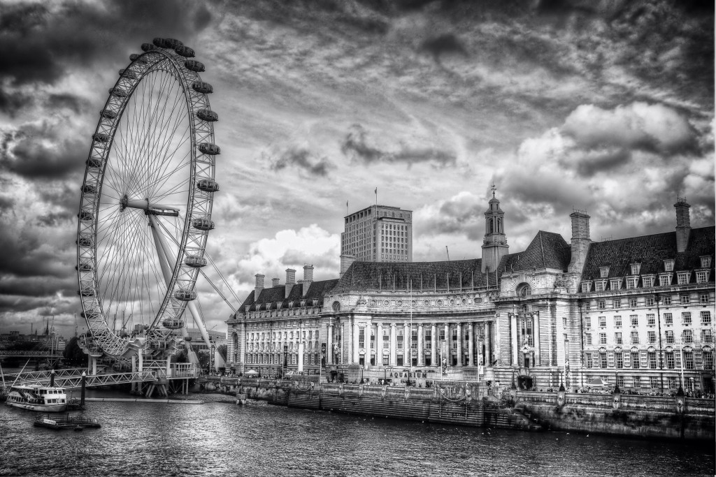 London Eye by Scott Liddell