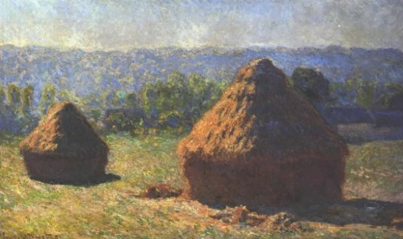 Monet Haystacks 4