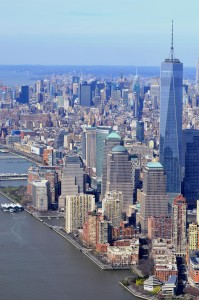 Manhattan sunny day
