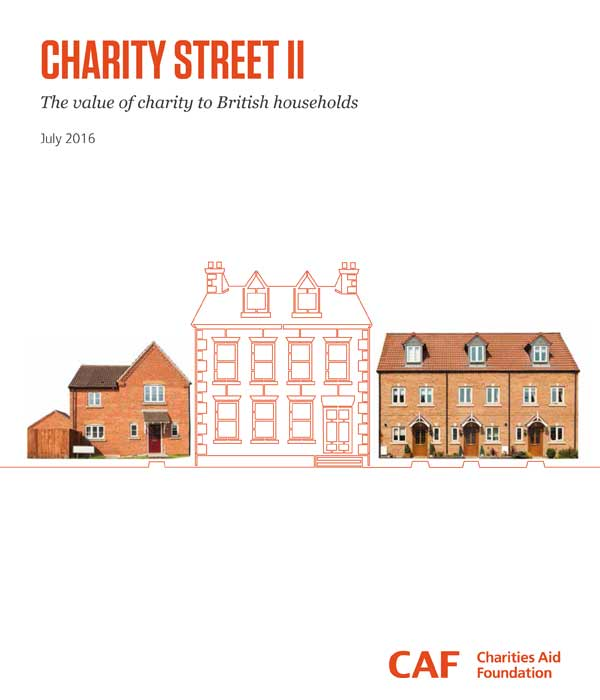 Front Cover - CAF Charity Street II Report 2016