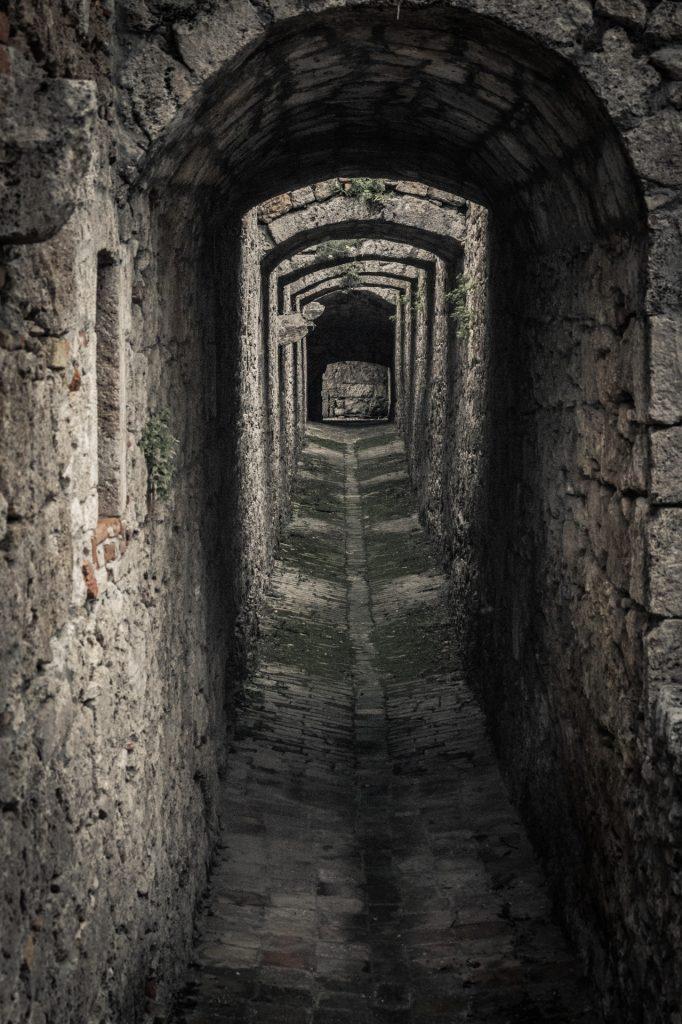 Dark Alley. Image by Petr Kratochvil
